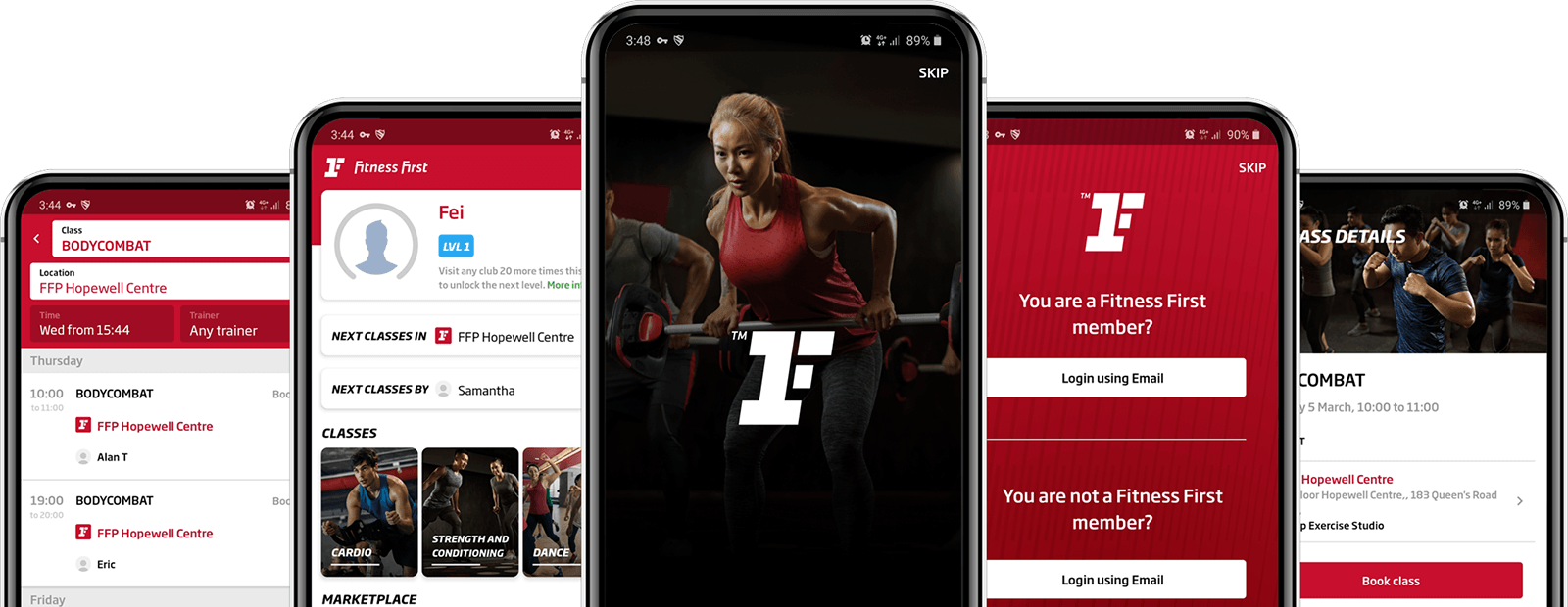 Fitness First New Mobile App for Download